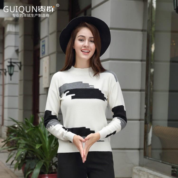 亚虎娱乐怎么样_亚虎娱乐女士半高领毛衣亚虎娱乐衫款式图片