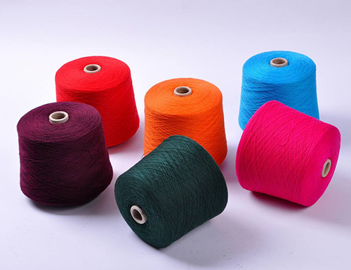 1.羊绒纱线进厂