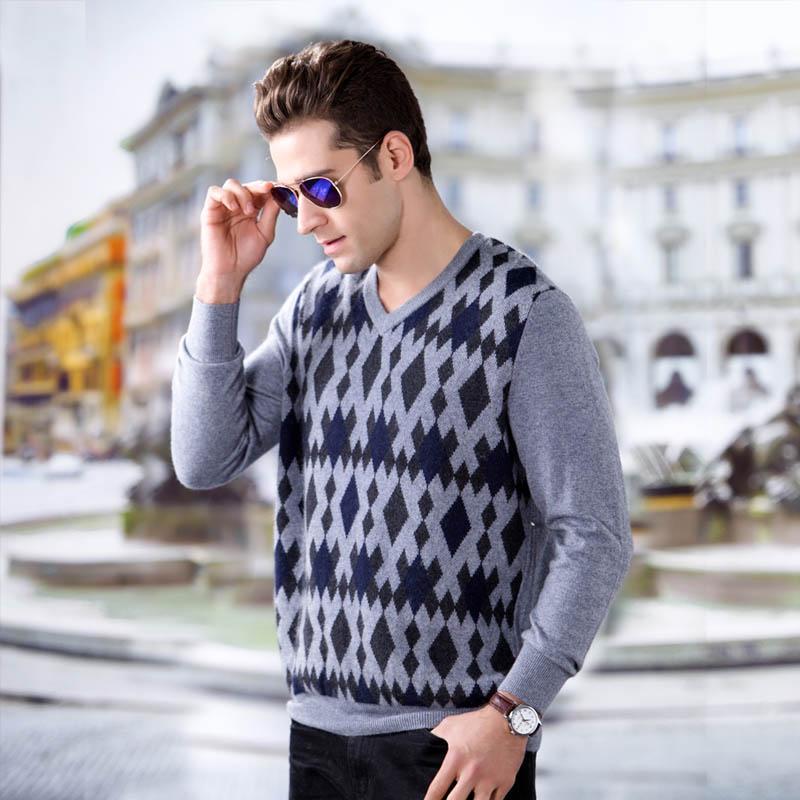 万博官网手机版网页版登录冬季男士万博manbetx客户端苹果图片V领针织衫GQ1178