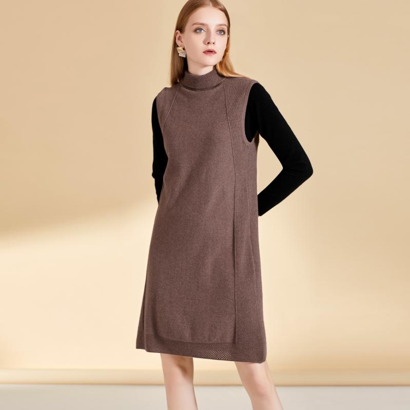秋冬女士新款万博手机端登录图片中长款时尚款式