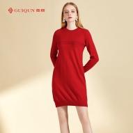 秋冬鄂尔多斯市乐动体育app咋样女式新款连衣裙图片GQ2689